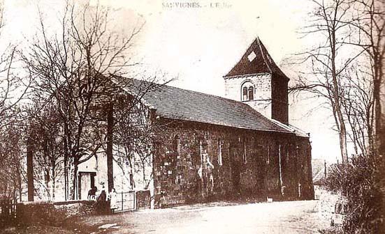 Eglise de Sanvignes - 1910