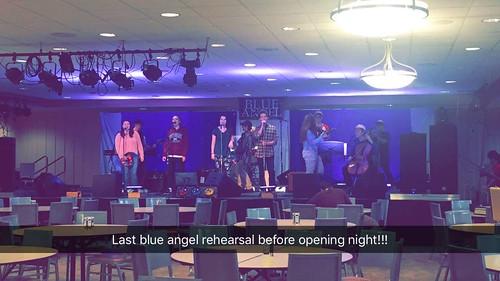 Last Blue Angel rehearsal