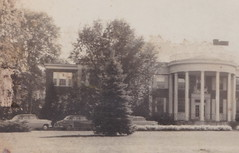 SW Allegan MI RPPC c.1940 John Robertson Hospital built in 1909 had some GANGSTER Al Capone history NOW REPORTED TO BE HAUNTED at 701 Marshall Street Photographer UNK2 (UpNorth Memories - Donald (Don) Harrison) Tags: