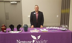 Neptune Society Indianapolis, IN - Service Manager Mike Neff Presented at the 181st Convention of the Episcopal Diocese of Indiana