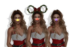 Glowing Nose (BellaParx) Tags: secondlife rudolph christmas rariti holiday newyearseve