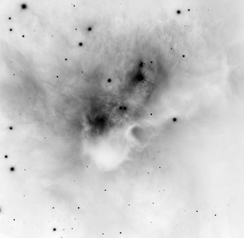 Cosmic Bat in Orion, variant