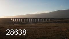 robfrance5d2_28638_091018_ribblehead_viaduct_inf_edr16lr6pse15coefx4weblowres (RF_1) Tags: 2018 britain dales dusk england rail railroad rails railway railwayviaduct railways ribblehead ribbleheadviaduct rural sc settlecarlisle settletocarlisle silhouette silhouettes sunset sunsets transport uk unitedkingdom viaduct yorkshire