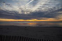 Sunrise (Lester Public Library) Tags: beach beaches neshotahbeach neshotah neshotahpark tworiverswisconsin tworivers wisconsin greatlakes lakemichigan lake water morning sunrise clouds sand lesterpubliclibrarytworiverswisconsin readdiscoverconnectenrich