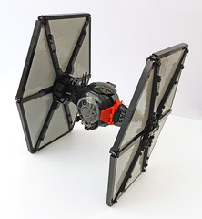 Angle (Rubblemaker) Tags: star wars starwars lego building blocks first order tie fighter