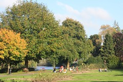 Changing Seasons (lazy south's travels) Tags: cork ireland irish europe european park tree trees city autumn people