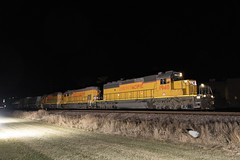 Just some 40N's (and a Geep) (dauve_787) Tags: illinois desplaines unionpacific emd sd40n
