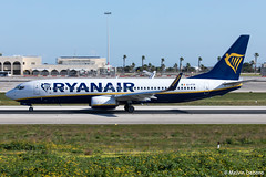 Ryanair Boeing 737-8AS  |  EI-FTP  |  LMML (Melvin Debono) Tags: ryanair boeing 7378as | eiftp lmml cn 44766 mla malta melvin debono spotting canon eos 5d mark iv plane planes photography airport airplane aviation aircraft