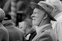 A face in the crowd No 18. (Robertinsco) Tags: candidphotography candidstreetphotography candidmonochrome candidportrait blackwhite blackandwhite blackwhitephoto blackwhiteportrait blackandwhitecandid blackandwhitecandidphotography streetphotography lumixgvario45150f4056 gx8