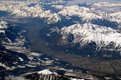 Innsbruck - Tyrol in Austria (SomePhotosTakenByMe) Tags: mountain berg alps alpen snow schnee landscape landschaft natur nature urlaub vacation holiday flight flug österreich austria tirol tyrol innsbruck city stadt indoor luftaufnahme aerialphotography luftbild