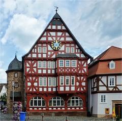Kirchhain Rathaus (blasjaz) Tags: blasjaz rathaus fachwerk fachwerkhaus kirchhain kreismarburgbiedenkopf hesse hessen germany