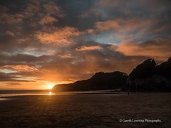 Sunset over Caswell Bay 2019 01 25 #45 (Gareth Lovering Photography 5,000,061) Tags: sunset sun sunny sunshine caswell gowercoast gower swansea wales seaside landscape beach walescostalpath olympus penf garethloveringphotography