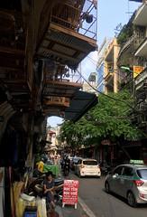 Old Hanoi (cowyeow) Tags: hanoi vietnam asia asian street urban city woman restaurant composition travel