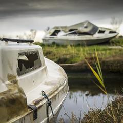 Cimetière de bateaux (Basile Lucas) Tags: boat old broken photography ambiance photographie sony sonyalpha landscape photographer costabrava
