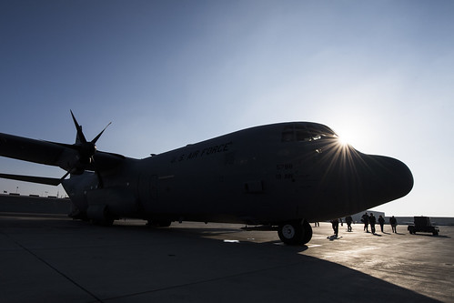 75th EAS provides C-130J cargo support