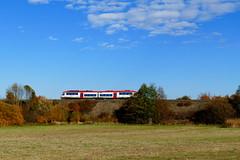 Odenwaldbahn (ivlys) Tags: hessen hesse odenwald oberramstadt odenwaldbahn zug train landschaft landscape himmel sky wolken clouds natur nature ivlys