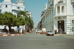 (homesickATLien) Tags: 35mm film art kodak expired mjuiii olympus travel backpacking backpacker myanmar burma yangon rangoon burmese british colonial architecture grandeur archaic cityscape asia expression harmony