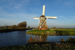 20181118 19 Zuidwolde (Sjaak Kempe) Tags: 2018 autumn herfst november sjaak kempe sony dschx60v nederland the netherlands niederlande zuidwolde provincie groningen windmolen molen mill windmill krimstermolen phoenix boterdiep