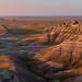 Big Badlands Overlook at Sunrise