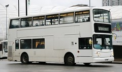 Atlantic Travel, Bolton LJ54BBZ on Rail Replacement duties at Manchester Victoria. (Gobbiner) Tags: railreplacement alexander alx400 atlantictravel lj54bbz arrivalondon b7tl manchester vla97 bolton volvo