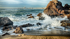 Montgat 2016 IV (candi...) Tags: montgat rocas playa barcelona agua piedras olas naturaleza nature airelibre sonya77