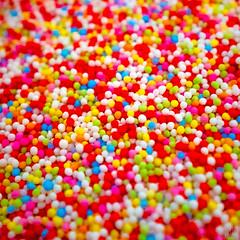 colourful sugar balls (MAICN) Tags: bunt square quadratisch colorfull colours sugar zucker farben nahaufnahme macro makro 2018 kugel ball