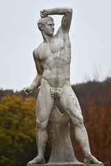 Statue (Bri_J) Tags: chatsworthhousegardens bakewell derbyshire uk chatsworthhouse gardens chatsworth statelyhome nikon d7500 autumn fall statue torso