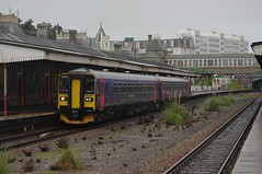 Wrong Line at Torquay (Better Living Through Chemistry37 (Archive3)) Tags: 153370 153371 gwr 2z68 wronglineworking torquay