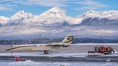 OK-VPI ABS Jets Gulfstream Aerospace G550 (airliners.sk, o.z.) Tags: airport poprad tatry popradtatry lztt tat lztttat airplane gulfstream g550 okvpi bizzjet absjets abs jets airlinerssk