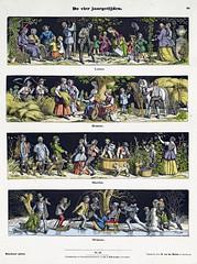 De vier jaargetijden (sjrankin) Tags: 23december2018 edited museum rijksmuseum art fineart historic winter seasonal seasons spring summer fall rppob201289 devierjaargetijden
