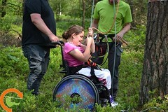 Pioneering high ropes course concept for wheelchairs and people with disabilities in development. #disability #handicap http://bit.ly/2yOEtSk (Skywalker Adventure Builders) Tags: high ropes course zipline zipwire construction design klimpark klimbos hochseilgarten waldseilpark skywalker