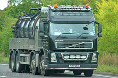Volvo FM Tanker Mid Counties Waste FJ10 LLD (SR Photos Torksey) Tags: transport truck haulage hgv lorry lgv logistics road commercial vehicle freight traffic volvo fm tanker mid counties waste