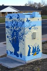 Dreaming Big Dreams (greeleygov) Tags: utility boxes box cabinets public art greeley colorado