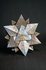 Semi-regular Star (talina_78) Tags: origami hexagon star