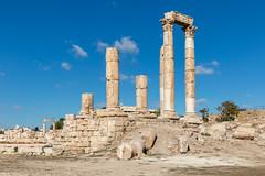 Temple of Hercules, Amman Citadel, Jordan (Jill Clardy) Tags: asia jordan middleeast roadscholar amman citadel temple hercules roman ruins 201810269l8a1722