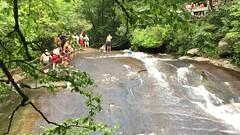 Sliding Rock (Probee) Tags: north carolina august 2016 usa maddison water