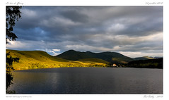 Le lac de Guèry (BerColly) Tags: france auvergne puydedome lac lake guery paysage landscape ciel sky nuages clouds smartphone samsung automne summer google bercolly flickr