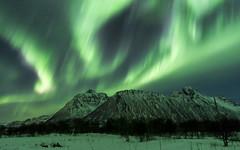 Northern light - Norway (leloops.berlin) Tags: snow mountains clouds nacht stars sterne stern aurora borealis clear scandinavia skandinavien norway nordlys samyang 12mm 20 norwegen nordlicht polarlicht polar arctic northern lights night sky