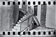 Lomography (Black and White Fine Art) Tags: lomography lomo holga holga120s 35mmadapter aristaedu10035mm kodakd76 sanjuan oldsanjuan viejosanjuan puertorico bn bw