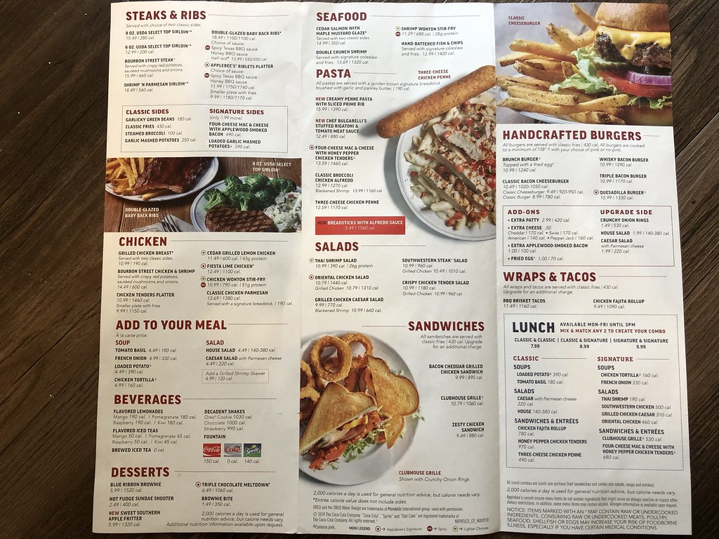 The World S Best Photos Of Applebees And Menu Flickr Hive Mind