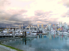 Vancouver, Canada (Veselina Dimitrova) Tags: vancouver canada britishcolumbia ocean water sky boats buildings clickcamera clickthecamera greatphotographers photooftheday pictureoftheday picoftheday city cityview cityphotography marina
