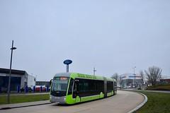 Metz - Van Hool ExquiCity Hybride - 25/11/18 (Jérémy P.) Tags: metz moselle lorraine grandest vanhool exquicity hybride articulé doublearticulé bus transports