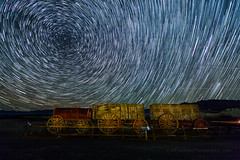 Star Trails Over Harmony Borax Works (Jeff Sullivan (www.JeffSullivanPhotography.com)) Tags: death valley national park astrophotography astronomy nationalpark california usa eastern sierra landscape nature travel night photography canon eos 5d mark iv photo copyright 2018 jeff sullivan december