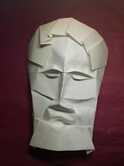 87/365  #DailyImprovisation #ImprovisacionDiaria #Origami #Papiroflexia #Arte #Papel #Mascara #Mask #Idea #OrigamiExperts (Daniel Bermejo Sánchez) Tags: idea mask mascara dailyimprovisation arte papel improvisaciondiaria origamiexperts origami papiroflexia