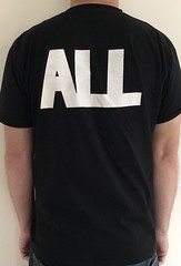 #3151B ALL - Riot Fest 2008 (Minor Thread) Tags: minorthread tshirtwars tshirt shirt vintage rock concert tour merch black all descendents riotfest 2009 cruz sst epitaph records