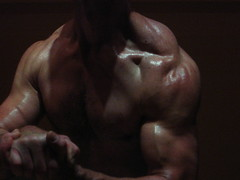MUSCLES (bobroberts1850) Tags: muscle muscles muscular bicep biceps bizeps ripped guns bodybuilder bodybuilding workout shoulders traps delts exercise jacked pumped hugebiceps bigbiceps flex flexing chest pecs peak strong abs schredded