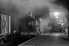 Night Train (Treflyn) Tags: caledonian railway 812 class 060 828 boness station kinneal insearchofsteam srps scottish preservation society night shoot train