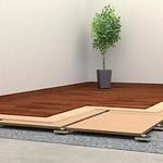 マンション用乾式二重床工法の写真
