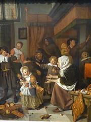 Saint Nicholas eve / Jan Steen (Beyond the grave) Tags: art jansteen saintnicholaseve steenjan painting netherlands rijksmuseum holland