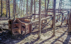 Abandoned in Place (Neal3K) Tags: georgia northgeorgia 35mm kodakportra400 nikons335mmfilmcamera rangefindercamera tallulahgorgestatepark